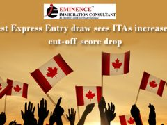 Another drop in CRS scores for Canadian ITA