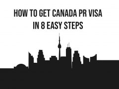 Eight Easy steps to get Canada PR Visa